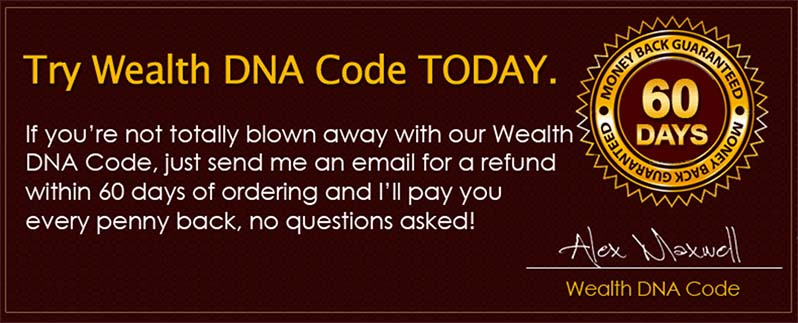 guarantee cert wealth dna code - Why 99% of People are unknowingly sabotaging their income